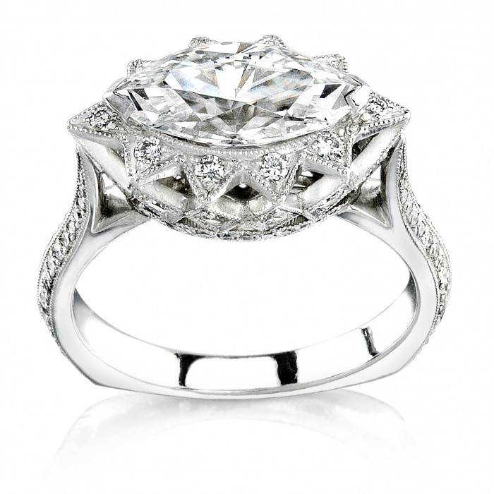 Marqui Crown Engagement Ring Engagement Rings Rings